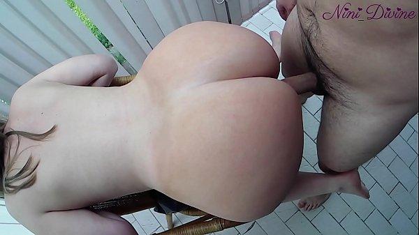 Sexo de quatro com a esposa do cuzão grande